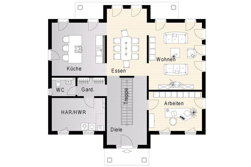 FM_098_134_B_EG.jpg (819×545) Haus/ Grundriss Pinterest